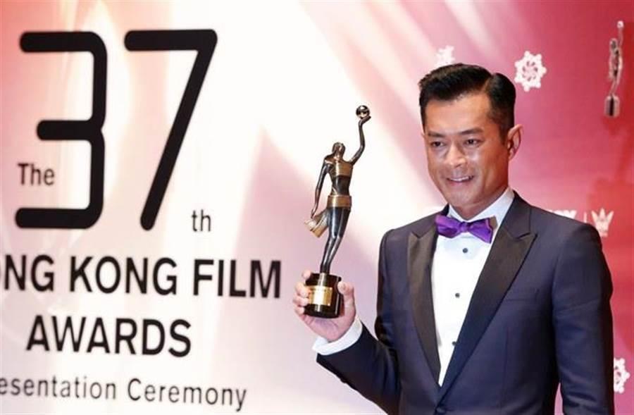 古天樂2018年首奪金像獎影帝,對於推廣香港電影的努力也備受同行肯定。(圖/達志影像)