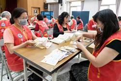 嘉義市買口罩附送平安皂 志工趕出10.4萬塊