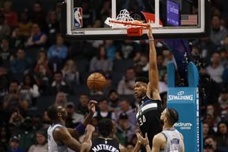 NBA》41分20籃板!字母哥摘鬼神數據
