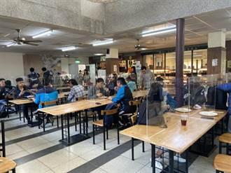 新冠肺炎疫情升溫 嘉義大學餐廳用這招防疫