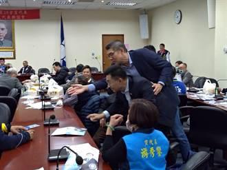 藍北市黨代表座談 中常委選將狂拜票 郝江先後到場搶票