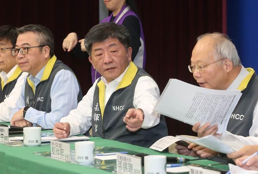 衛福部長陳時中。(本報系資料照)