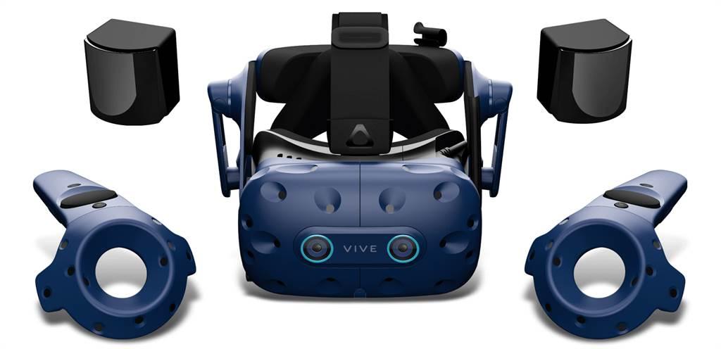 HTC VIVE Pro Eye 及VIVE Pro Eye商用版。(HTC提供/黃慧雯台北傳真)