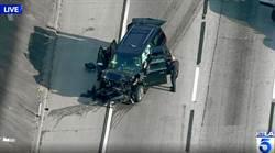 影》偷車賊盜開靈車 與警方高速公路追逐