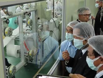 已供應全台560萬片醫療口罩 賴讚康那香:愛國企業