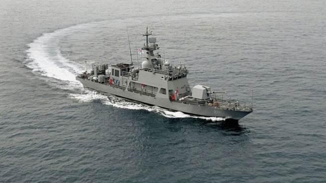 大鷲2級巡邏艇。(圖/韓進重工)