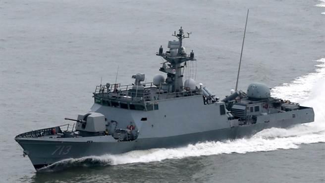 尹永夏級巡邏艦。(圖/韓國海軍)