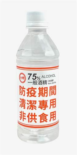 台糖防疫75%酒精 全聯明限量賣