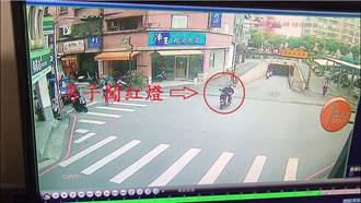 闖紅燈涉辱警 妨害公務究辦