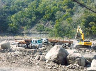 水利署增疏濬千萬噸 補陸砂缺口