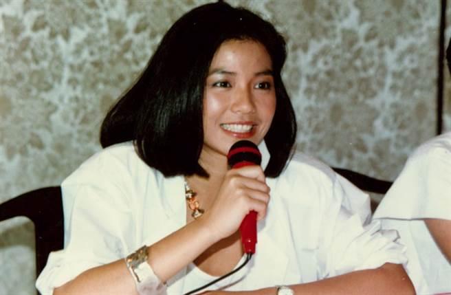港姐出身的鍾楚紅,曾獲選為十大性感女星榜首。(中時資料照片)