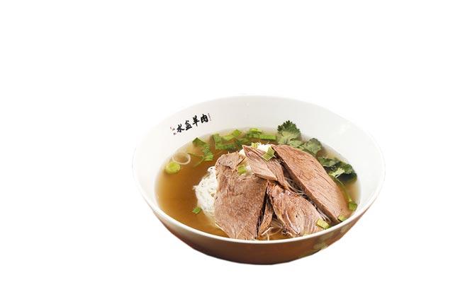 京站小碧潭店引進來自西安知名餐飲「江記水盆羊肉」,為獨家品牌。(京站提供)