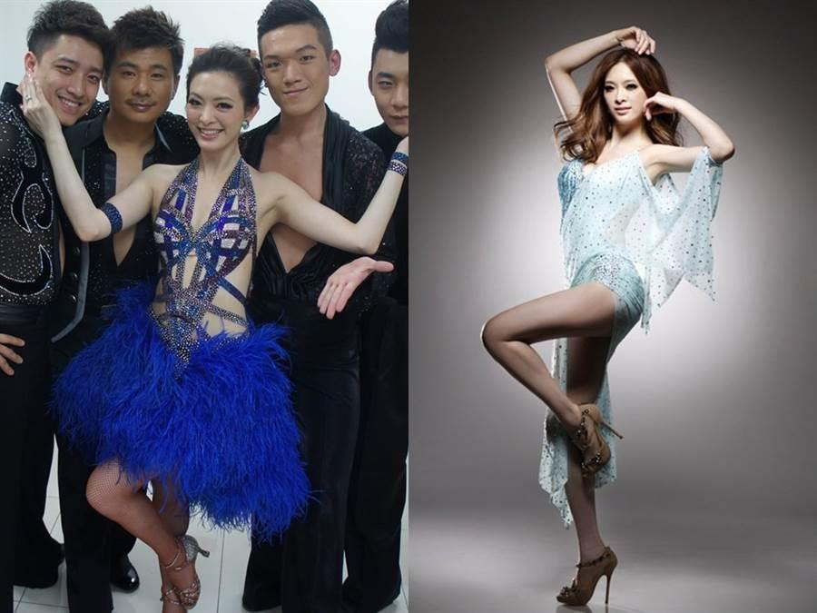 劉真長年學國標舞,高跟鞋穿了超過20年,不只是跳舞的夥伴,也是熱衷的收藏品。(圖/FB@劉真)