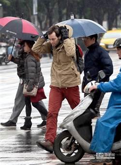 冷氣團來襲!北部低溫降至12度 3縣市大雨特報