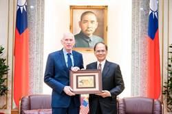 莫健今拜訪國會 承諾推動台美更緊密