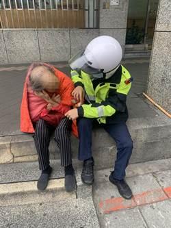 老母親失蹤在永和 警靠紅外套助返家