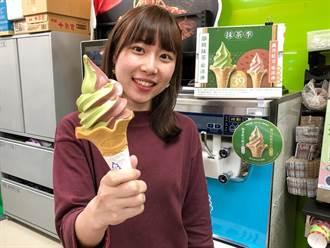 全家抹茶紅豆霜淇淋  紅配綠復刻登場