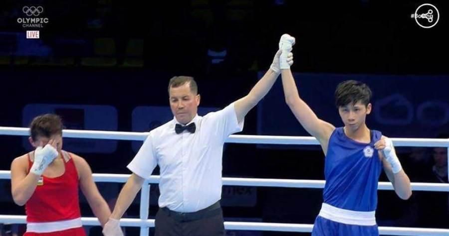 林郁婷首戰大勝對手,晉級八強。(圖/olympicchannel)