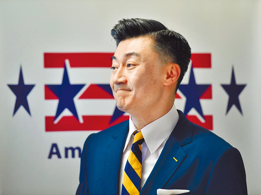 《台灣友邦國際保護及加強倡議法案》預料將會獲得美國眾議院議員壓倒性支持而通過。圖為台北市美國商會會長金奇偉。(中央社)