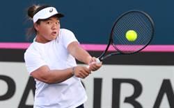 聯邦盃女網賽 台灣直落3不敵大陸