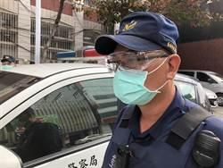 台南警獲贈1萬支護目鏡 12日起全台率先佩戴值勤