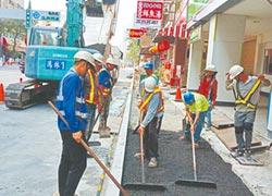高市道路修繕 試辦綠色工法