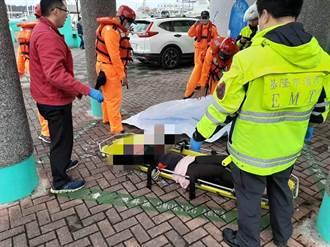 碧砂漁港驚見女性浮屍 警調查落水原因