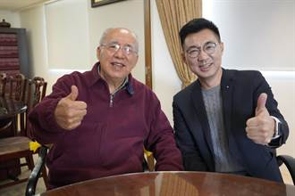 國民黨黨魁補選明登場 江啟臣拜訪吳伯雄爭取支持