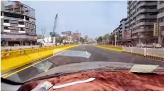 中華地下道填平通車 高雄網友開車親自體驗後狂喊!