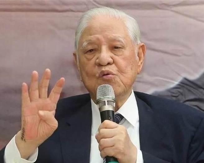 前總統李登輝。(圖/本報資料照)
