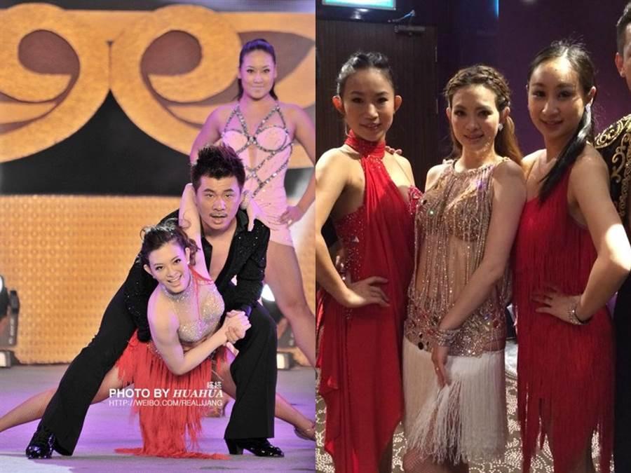 劉真愛跳舞,從無名小卒蛻變成國標舞女王。(圖/FB@劉真)