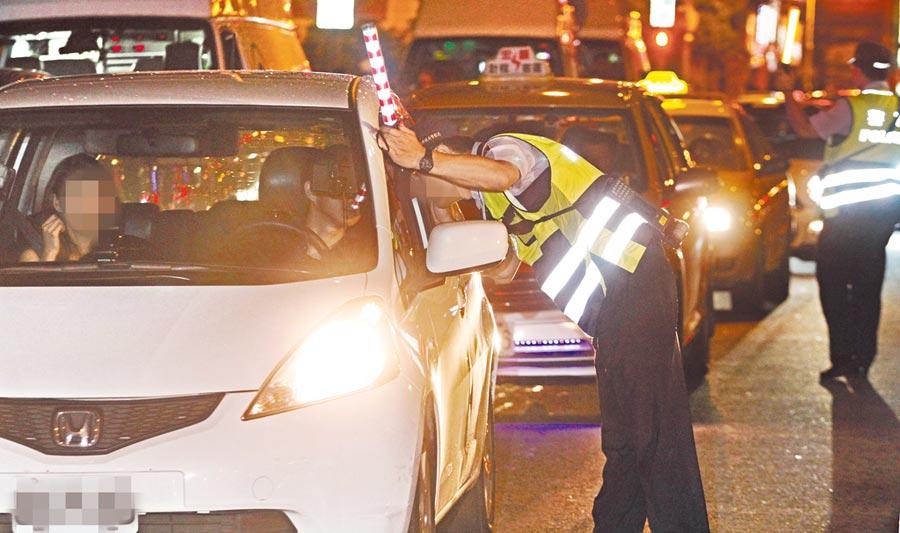 針對全國性酒測暫時取消一事,內政部長徐國勇5日在立法院澄清表示,只是全國性酒測暫時取消,但地方酒測還是會照抓。(本報資料照片)
