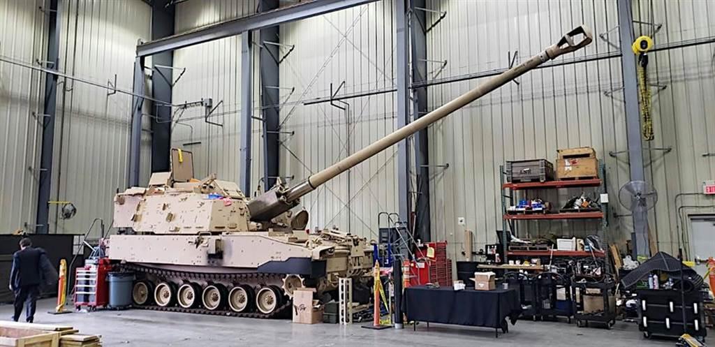 美國陸軍的超級大砲XM1299。(美國陸軍作戰能力發展指揮部/U.S. Army Combat Capabilities Development Command)