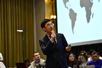 台灣之光!成大李柏錦高票當選世界醫學生聯盟會長