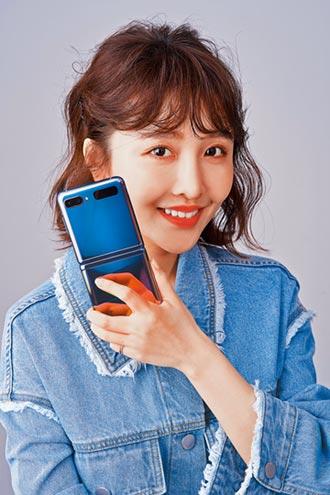 張若凡一試成主顧 Galaxy Z Flip摺疊似鏡盒