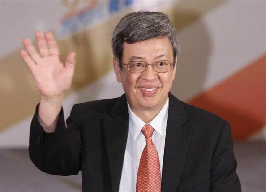 圖為副總統陳建仁。(資料照 杜宜諳攝)