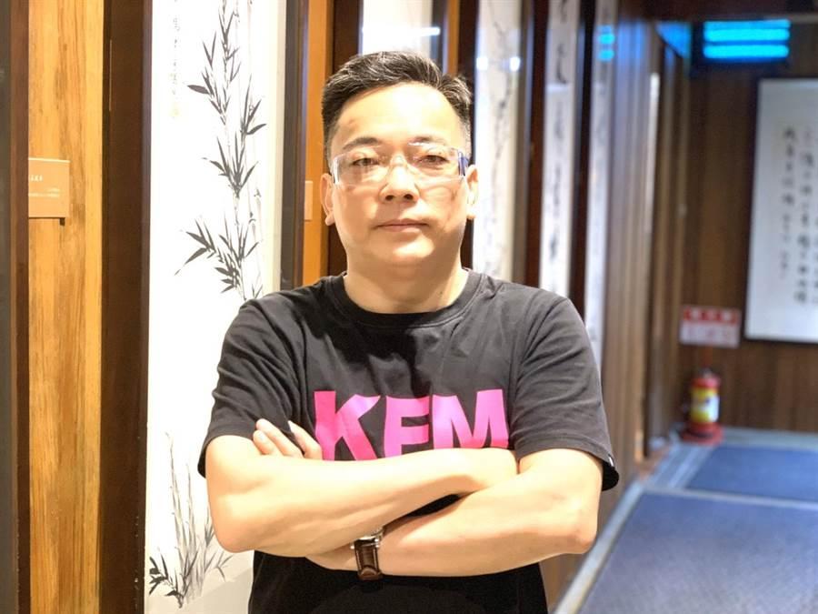 命理大師詹惟中。