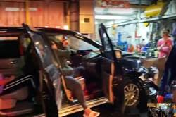 休旅車衝民宅 台東婦遭撞命大輕傷