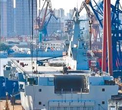 第2艘075艦島上艦 再現中國速度