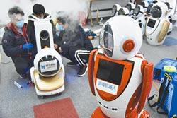 5G機器人大軍 活躍抗疫第一線
