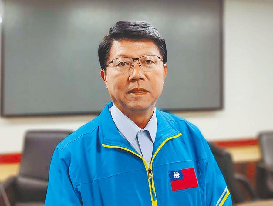 國民黨台南市議員謝龍介。