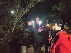 初登百岳疑高山症作祟 台中消防啟動「複式通報機制」救命