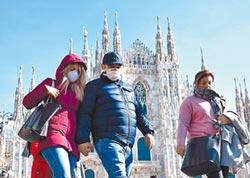 義大利疫情嚴重 米蘭、威尼斯封城