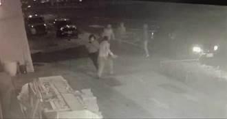 中市租車行半夜遭砸4車毀 車號追兇逮5嫌