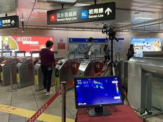 北捷6站 月底增紅外線熱顯像儀