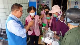 台南市議員蔡育輝助防疫 免費次氯酸水即日發放