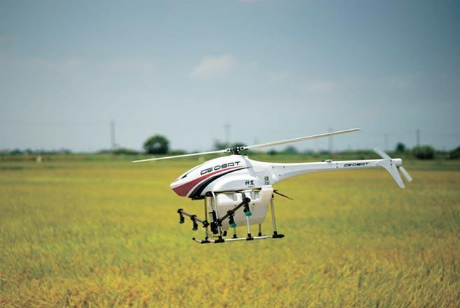 經緯航太神農植保無人機性能成熟可靠,深獲農民信任。圖/經緯航太提供