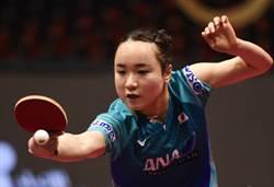 桌球》日本新女王 伊藤美誠首登世界第2
