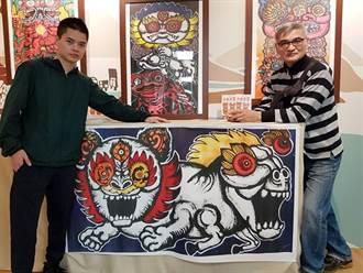神獸融動畫人物展創意 華梵學生個展顛覆視覺