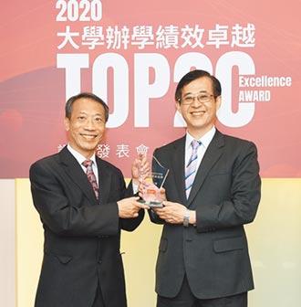 靜宜榮獲辦學績效成長TOP20